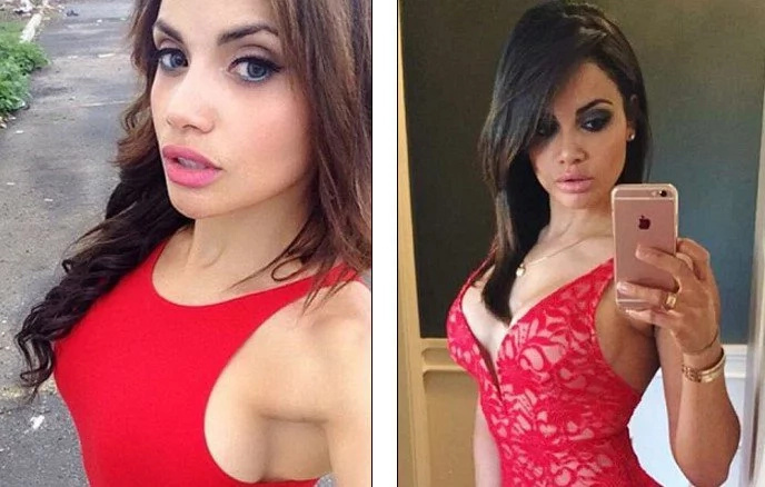 See woman, 32, who works a POLICE officer by day and hot lingerie model by night