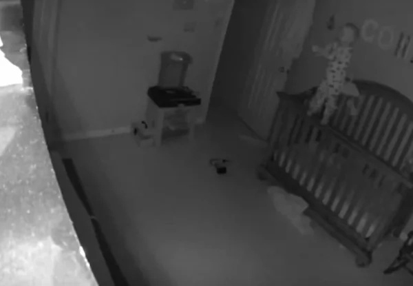 Parents installed camera in baby's room, but they NEVER expected to see this…
