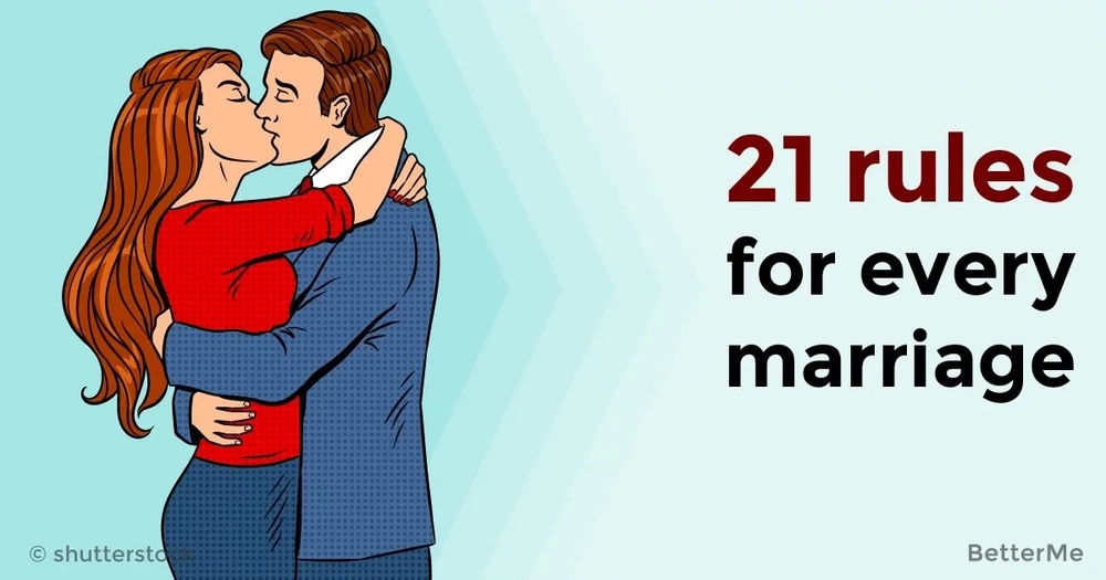 21 rules for every marriage