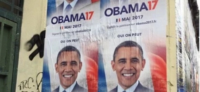 Be our president! French voters beg Barack OBAMA to participate in country's election (photo proof)