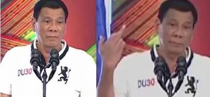 Furious Duterte tells EU 'F*ck you!' for criticizing drug war