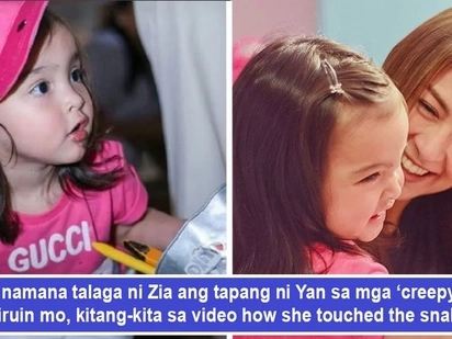 Mana talaga kay Yan! Brave Zia Dantes gives Daddy Dingdong a scare when she touches live snake proving bravery runs in the genes