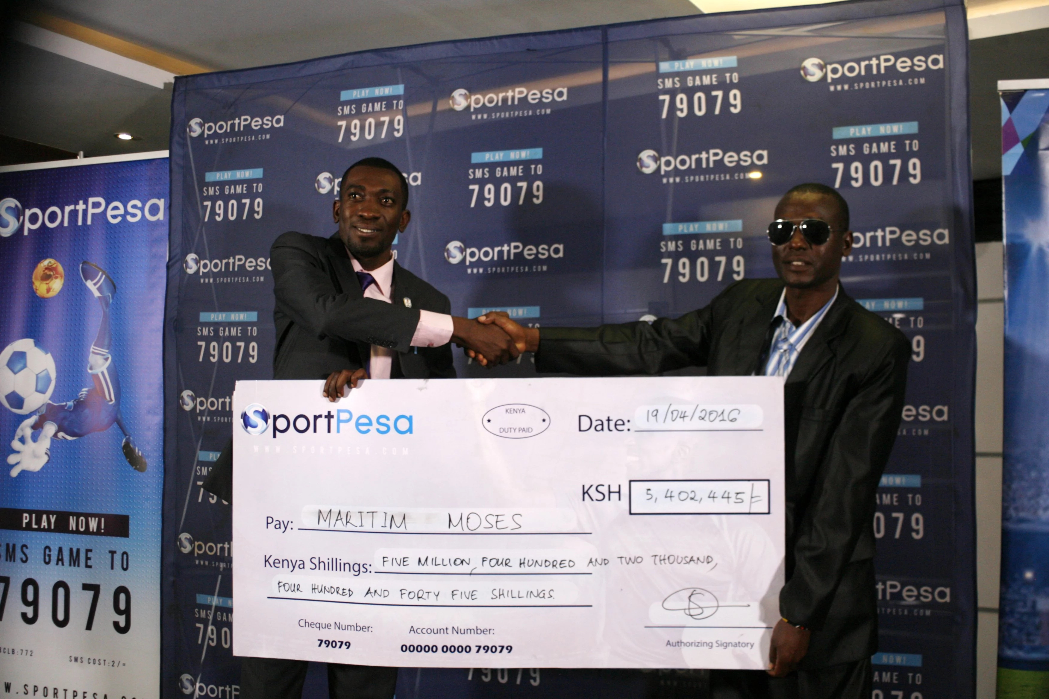 Sportpesa unveils new millionaires in town