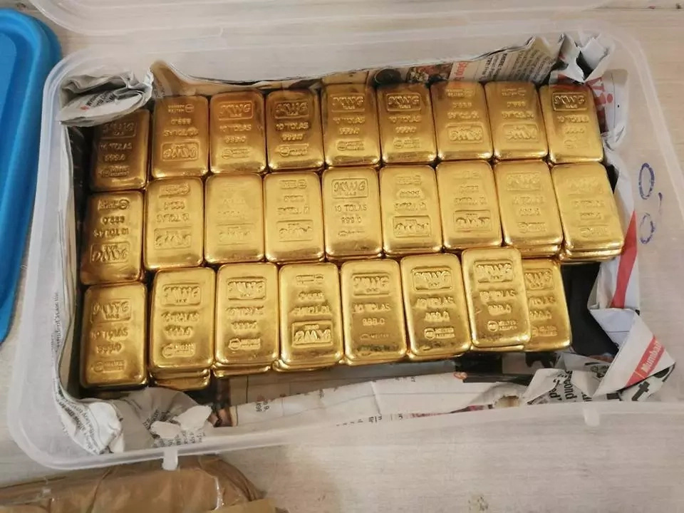 Kenyan arrested in India with 23Kg of gold