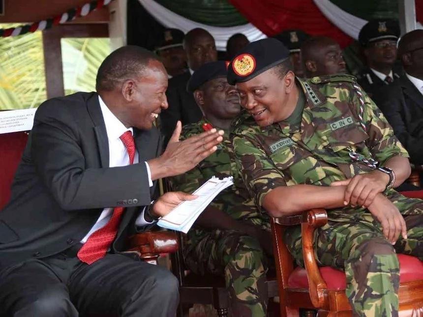 Picha 15 za kipekee zonazodhihirisha jinsi Uhuru alivyomuamini Nkaissery