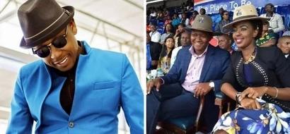Mwanamuziki wa P-UNIT ajiunga na siasa, huu hapa wadhifa anaowania (picha)