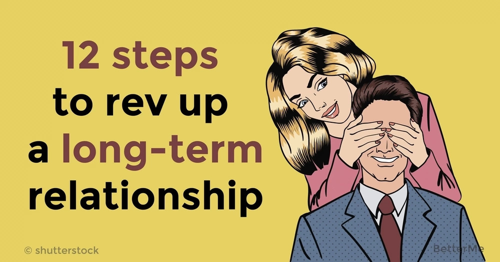 12 steps to rev up a long-term relationship