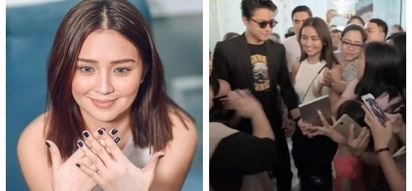 May puhunan! Kathryn Bernardo opens new branch of her awesome KathNails business venture at Mall of Asia