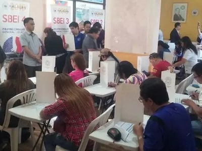 OAV canvassing complete – COMELEC