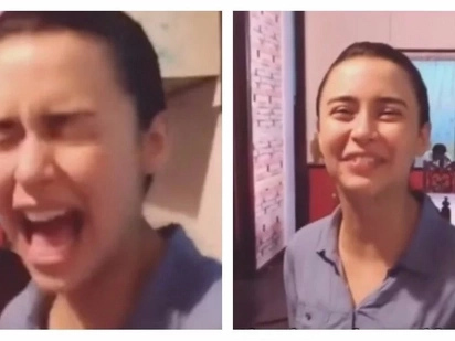 Tinakot ng todo! Video of Yassi Pressman geting scared twice on the set of 'Ang Probinsyano' goes viral
