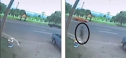 Ghost Arising From Woman's Body After Fatal Incident Caught On Video