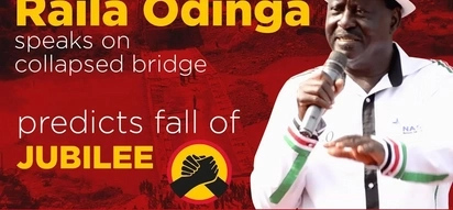 Raila Odinga reveals unknown history of collapsed Sigiri bridge, Uhuru Kenyatta is involved