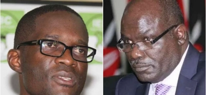 Chiloba moves to court to challenge Chebukati's decision to suspend him