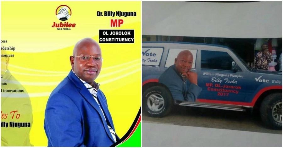 Mwanasiasa atoweka na gari la mwenyewe, polisi waanzisha msako