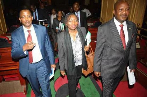 Four IEBC commissioners write to Uhuru to resign