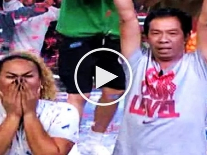 Watch comedians Negi and Long Mejia win P1 million on 'Minute to Win It'
