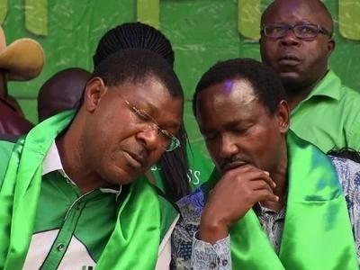 """Kalonzo na Wetangula """"watimuliwa MBIO"""" kutoka ngome ya Uhuru"""