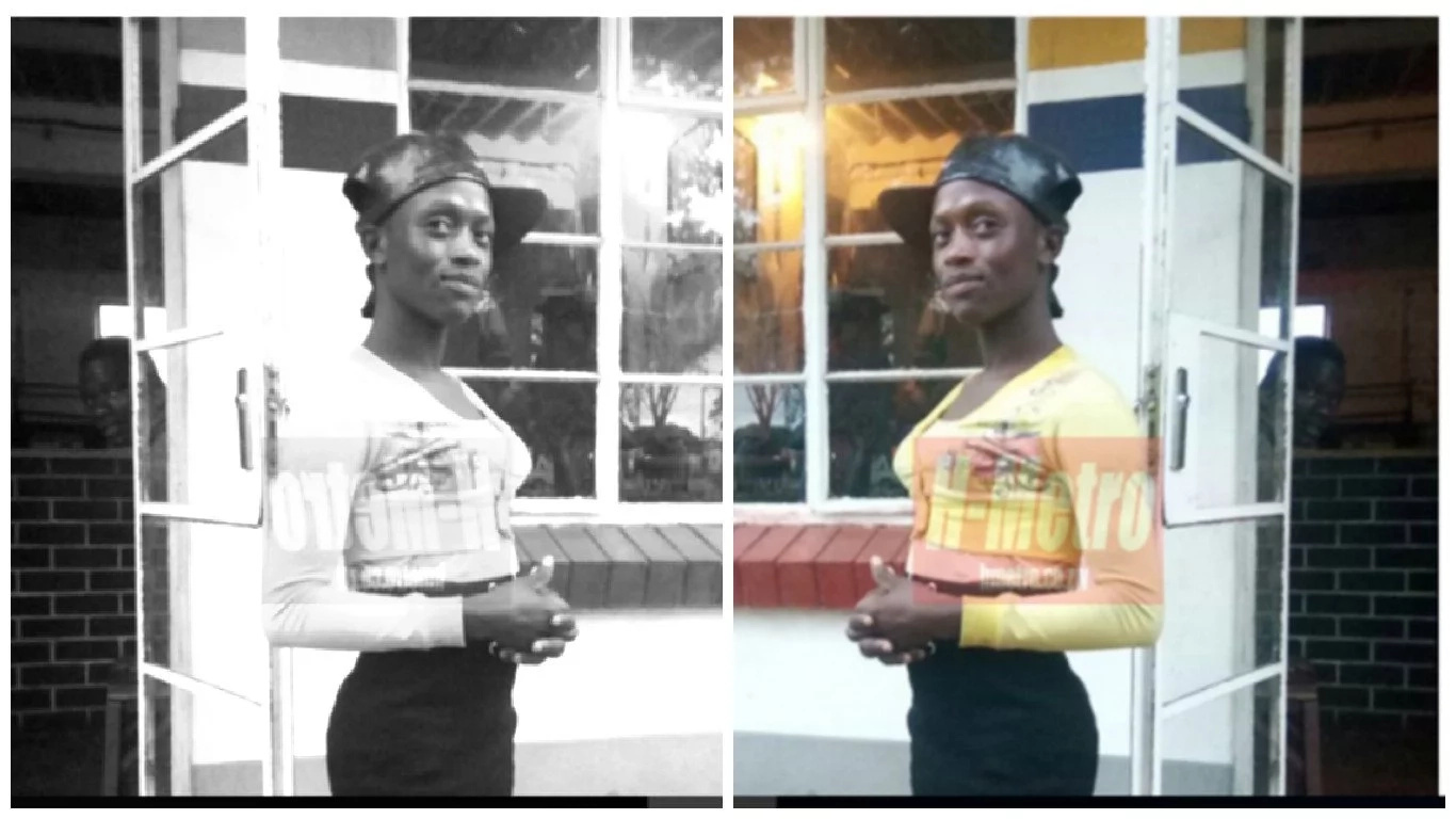 Terrify! Man dresses as female street worker to dupe clients with toilet trick (photos, video)