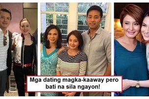 Walang imposible sa nagpapatawad! Pinoy celebrities who used to be enemies but are now friends