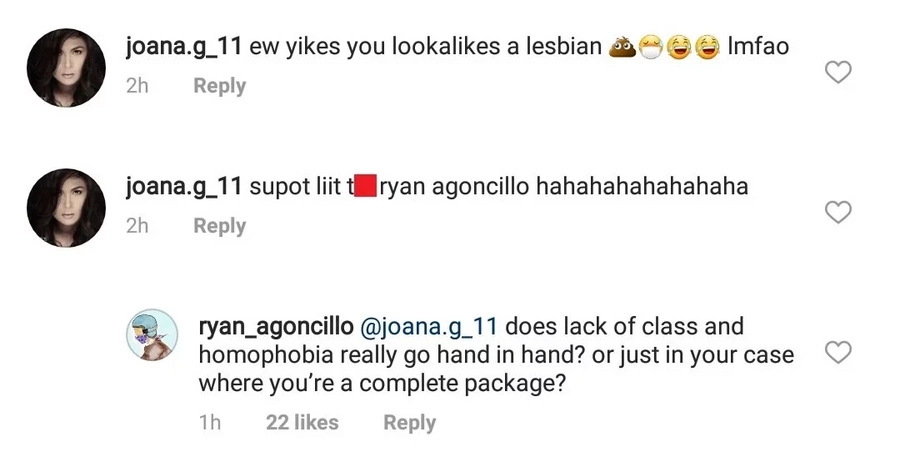 Ryan Agoncillo fires back against netizen who bashed his physical appearance