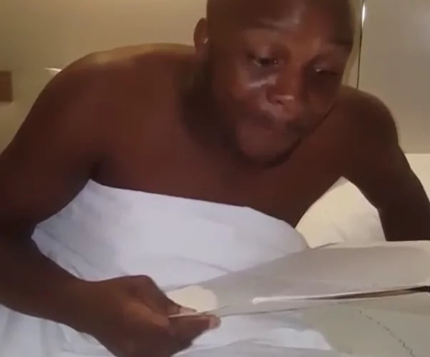 Hilarious! Look at how Jalang'o was confused in a top hotel while trying to order a meal