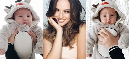 Georgina Wilson admits to being 'obsessed' with her adorable firstborn