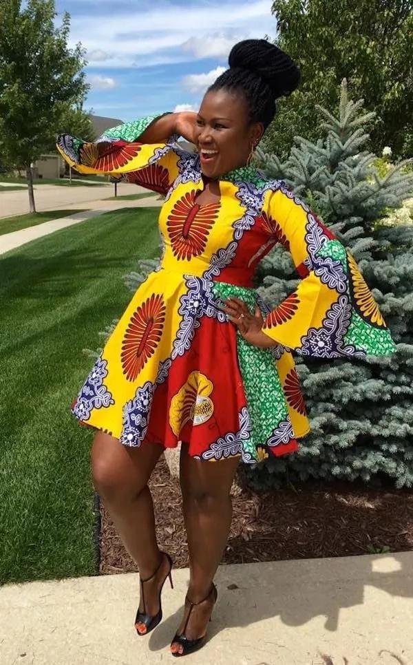 Kitenge dresses 2018