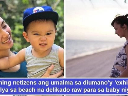 Umalma na mga netizens! Iya Villania draws another round of flak from netizens for a dangerous beach 'exhibition' despite pregnancy