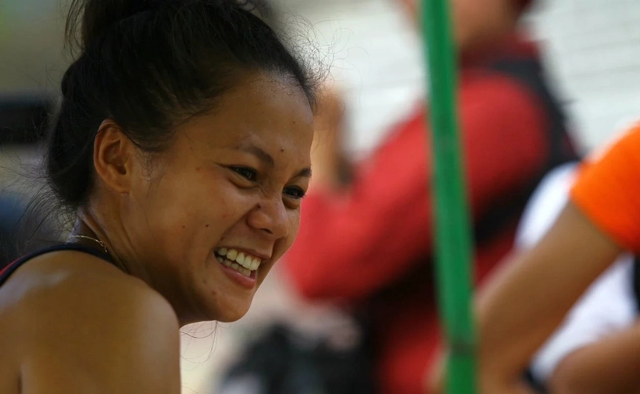 Marestella Torres failed to qualify for women's long jump