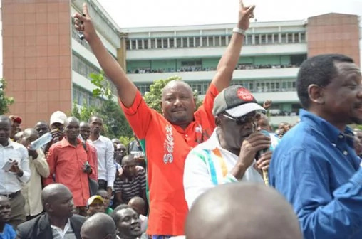 KANU's Nick Salat in trouble for associating with Raila Odinga