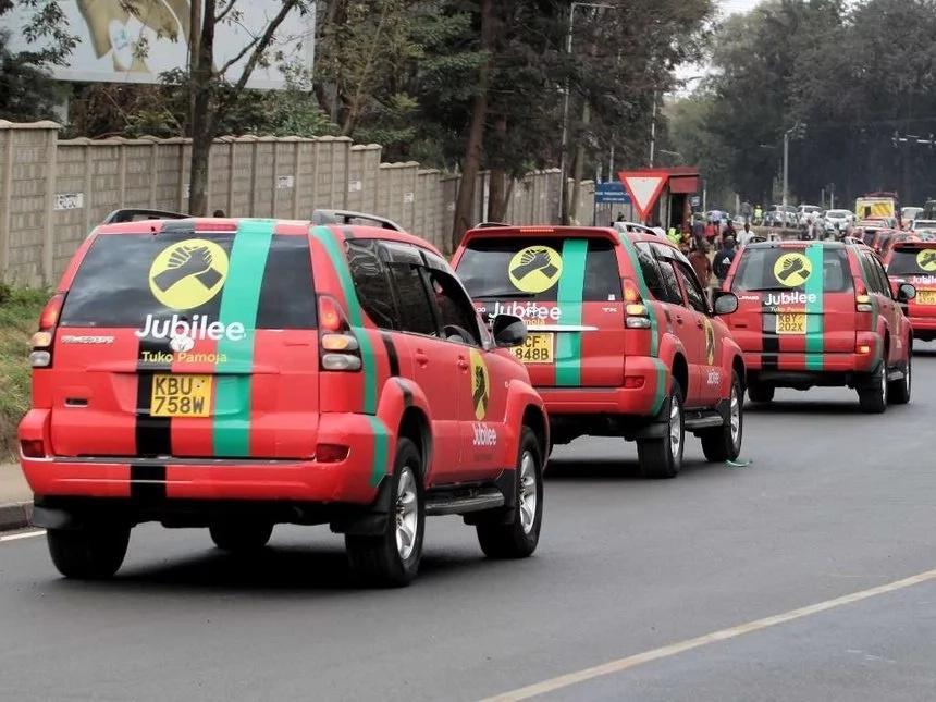 Top sleek cars to be used in Kenya's General Elections Showdown