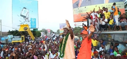 Drama as CORD leaders storm police station after rigging accusations in Malindi by-election