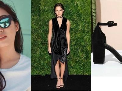Ang galing talaga ng Pinoy! Beauty and the Beast star Emma Watson shows off Filipino-designed sustainable shoes