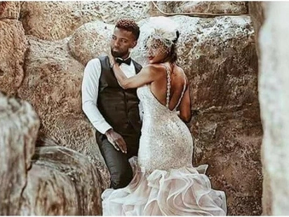Citizen TV Lilian Muli's dancehall crush, Konshens ties the knot in lavish wedding