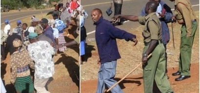 Drama in Nyeri as rival groups clash in church