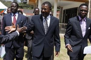 Ababu Namwamba's message to Wetangula for attacking Raila Odinga