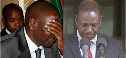 William Ruto embarrassed by his close friend on National TV