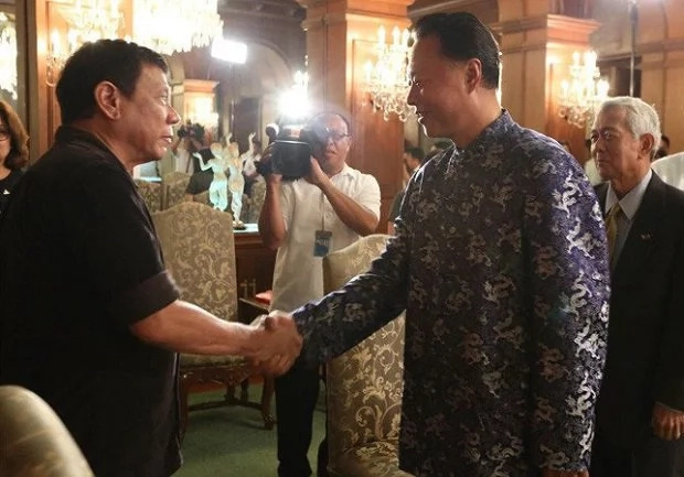 Beijing to assist Duterte in drug war