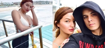 Sarah Lahbati is having the most relaxing downtime with Richard and Zion in Australia