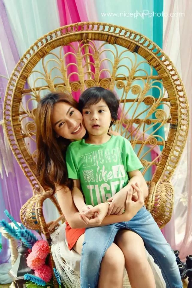 Ang pogi! Meet Alex Jazz, the son of Patrick Garcia and Jennylyn Mercado