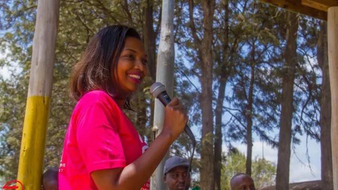 Kutana na mgombeaji 'anayevunja shingo' za wanaume Nairobi