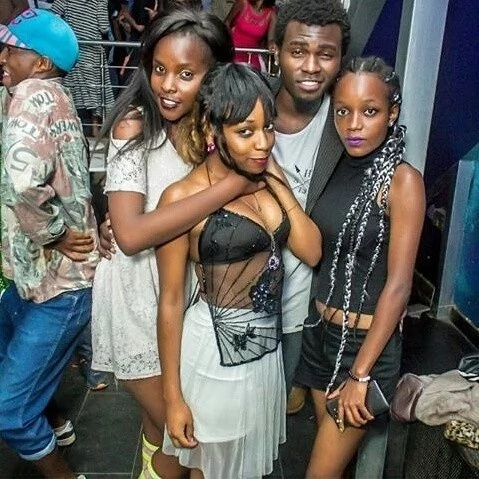 A summary of crazy photos showing Nairobi's night life