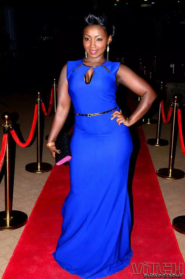 These are the 10 best super photos of Kenyan female celebrities rocking colour blue