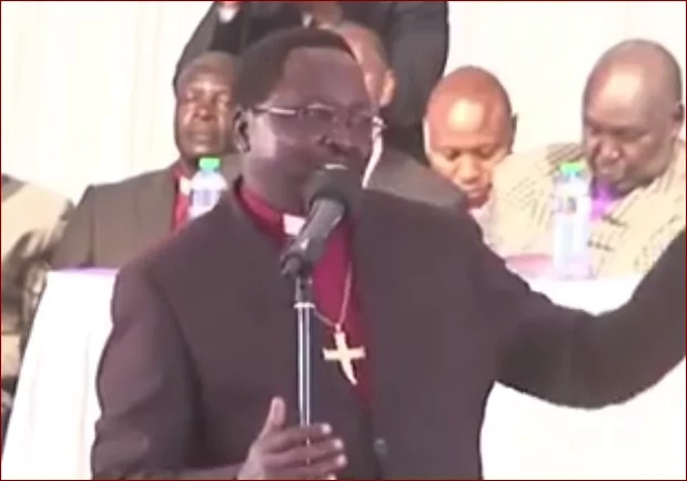 """Bishop """"insulted"""" by President Uhuru meets Raila (photos)"""