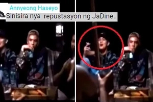 Yosi boy pala?! James Reid caught on video allegedly smoking a cigarette with his friends! Watch the controversial video here!