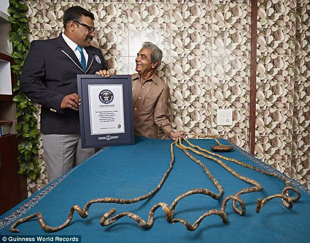 I want to beat world record, says Kenyan with longest nails