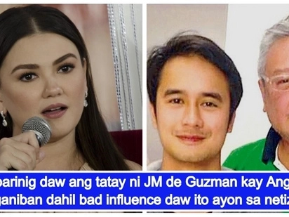 JM de Guzman's father allegedly slams Angelica Panganiban for drinking with son & calling her mom 'Okja'