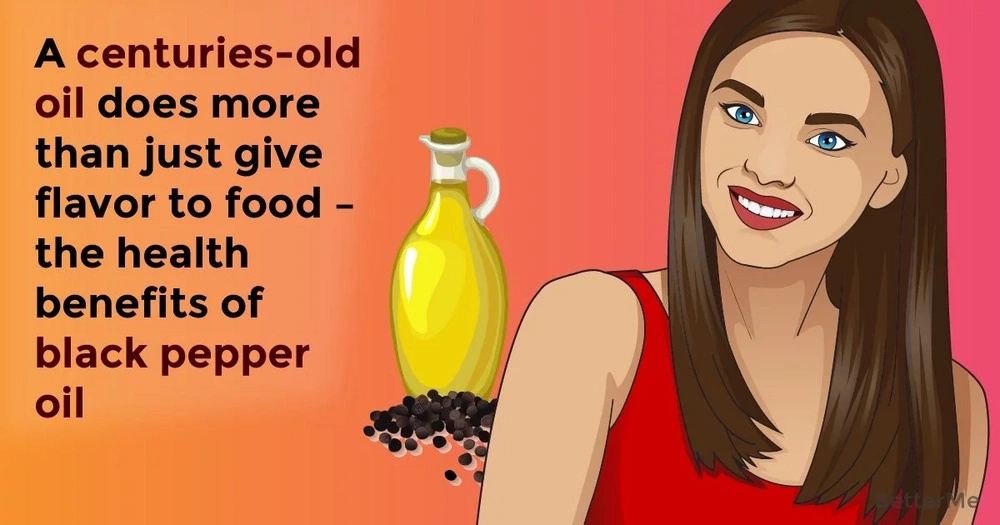 A centuries-old oil does more than just give flavor to food – the health benefits of black pepper oil