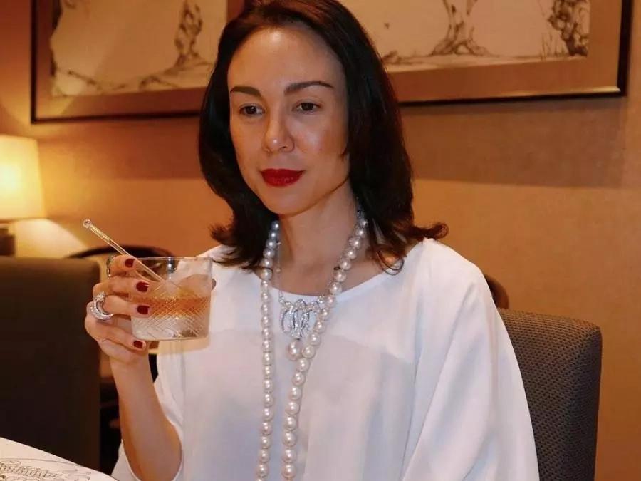 """Ka-party nila si La Greta! Gretchen Barretto celebrates her """"kasambahay's"""" birthday at home"""