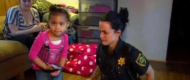 2-Year-Old Girl Calls Police When She Can't Get Her Pants On